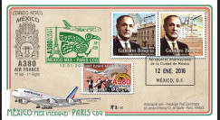 """A380-297T2 : 2016 - FFC MEXIQUE """"A380 Air France Vol inaugural AF439 Mexico-Paris"""""""