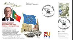 """PE696 : 04-16 FDC Parlement européen """"Président du Portugal"""
