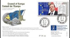 """CE67-IID : 04-2016 - FDC Conseil Europe """"M. KVIRIKASHVILI"""
