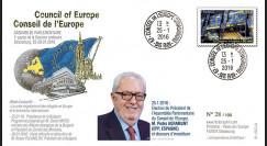 """CE67-IB : 01-2016 - FDC Conseil de l'Europe """"Election du Président de l'APCE M. Agramunt"""""""