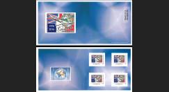 """CO-RET62/63C : Carnet Collector """"40 ans 1ers vols Concorde - Parlement européen"""" 8-5-16"""