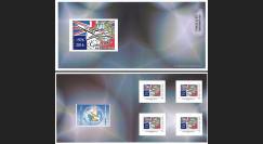 """CO-RET65/66C : Carnet Collector """"40 ans 1ers vols Concorde - Parlement européen"""" 8-5-16"""
