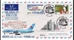 """A380-279T2 : 2014 - FFC Corée du Sud A380 Korean Air """"Return to Flight Séoul - Paris"""""""