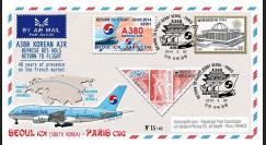 """A380-279T3 : 2014 - FFC Corée du Sud A380 Korean Air """"Return to Flight Séoul - Paris"""""""