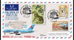 """A380-279T4 : 2014 - FFC Corée du Sud A380 Korean Air """"Return to Flight Séoul - Paris"""""""