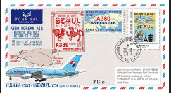 "A380-282T1 : 2014 - FFC FRANCE A380 Korean Air ""Return to Flight Paris - Séoul"""
