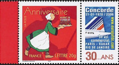 "CO-RET23NG : 2006 - TPP France Becassine ""30 ans Concorde Paris-Rio"""