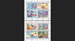 """A380-291BD : 2015 - Vignettes A380 Lufthansa """"1ers vols Francfort - Hong Kong - Francfort"""""""