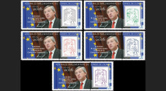 "CE67-IIAPT : 2015 - Série 5 Marianne Conseil de l'Europe ""M. JUNCKER"