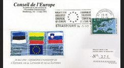 "CE44-VA : 14.05.1993 - FDC ""Adhésion Estonie"