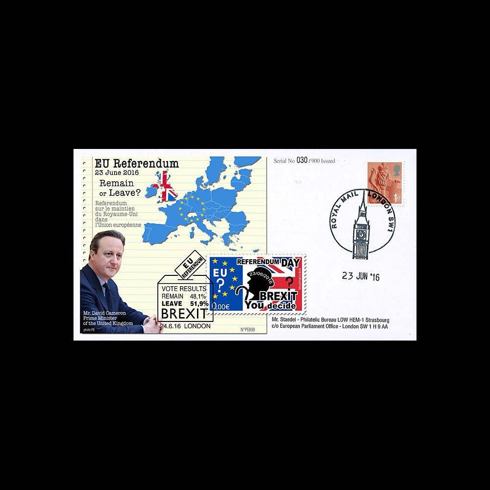 """PE699 : 23.6.2016 - FDC Londres """"Référendum maintien du Royaume-Uni dans l'UE- BREXIT"""""""