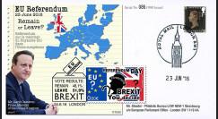 """PE699T4 : 23.6.16 FDC Londres """" Référendum maintien du Royaume-Uni dans l'UE - BREXIT """""""
