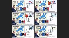 """PE699T6/11 : 23.6.16 - 6 FDC Londres """" Référendum maintien Royaume-Uni dans UE - BREXIT """""""