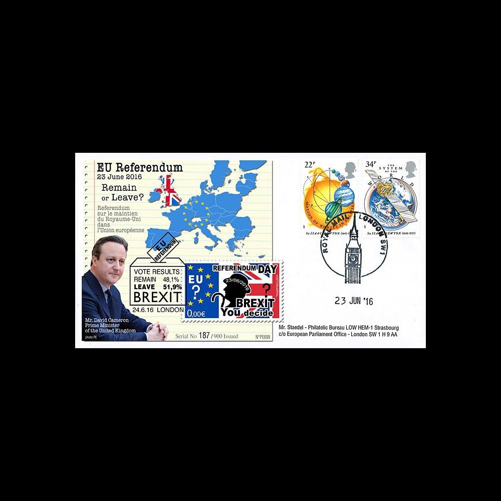 """PE699T15 : 23.6.16 FDC Londres """" Référendum maintien du Royaume-Uni dans l'UE - BREXIT """""""