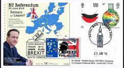 """PE699T17 : 23.6.16 FDC Londres """" Référendum maintien du Royaume-Uni dans l'UE - BREXIT """""""