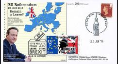 """PE699T1 : 23.6.16 FDC Londres """" Référendum maintien du Royaume-Uni dans l'UE - BREXIT """""""
