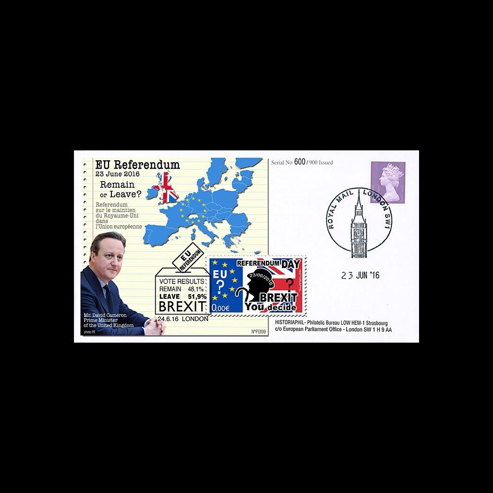 """PE699T2 : 23.6.16 FDC Londres """" Référendum maintien du Royaume-Uni dans l'UE - BREXIT """""""