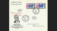 """CE14-IIIa-T2 : 1963 Env CE """"de Gaulle : NON à la candidature britannique au Marché Commun"""""""