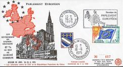 AP125 : 1975 - FDC PE '1er référendum britannique : maintien du Royaume-Uni dans la CEE'