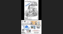 """HLF15-20C : 2015 - Carte Maxi SPM-FRANCE à bord """"Escale 16 Saint-Pierre - L'HERMIONE"""""""