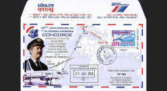 "CO-RET58T2 : 2016 - FDC FRANCE ""CONCORDE - 40 ans 1er vol Paris-Rio / Ass. Nationale"""