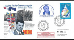 "PE434T1 : 2001 FDC Parlement européen ""Boris TRAJKOVSKI"
