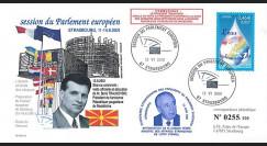 "PE434T2 : 2001 FDC Parlement européen ""Boris TRAJKOVSKI"