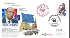 """PE703 : 2016 - Session PE """"Premier Jour du timbre François Mitterrand - expo philatélique"""""""
