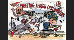 """CO-89CP : 1989 - CP """"Meeting aérien de Coulommiers/ Club Concorde / Cdt Chemel"""""""