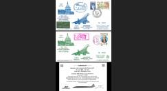 """AF011/002W : 29-30.10.1982 - 2 FFC """"Dernier vol régulier Concorde Paris-Washington"""""""