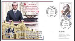"""PRES17-1A : France FDC """"Présidentielle 2017 - Hollande renonce à sa candidature"""" TYPE1"""
