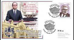 """PRES17-1B : France FDC """"Présidentielle 2017 - Hollande renonce à sa candidature"""" TYPE2"""