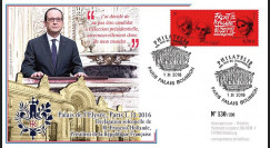 """PRES17-1C : France FDC """"Présidentielle 2017 - Hollande renonce à sa candidature"""" TYPE3"""