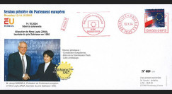 "BR66 : 10-2004 FDC Parlement européen Bruxelles ""Prix Sakharov 1995 - Leyla ZANA"""