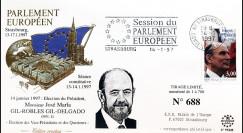 """PE335 : 1997 FDC PE """"Election Président Parlement européen M. GIL-ROBLES GIL-DELGADO"""""""