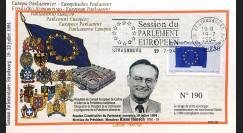 """PE287 : 1994 - FDC PE """"Election du Président du Parlement Européen"""