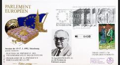 """PE244 : 1992 - FDC PE """"Election du Président du Parlement Européen"""