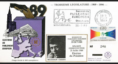"""PE198 : 1989 - FDC PE """"Election du Président du Parlement Européen"""