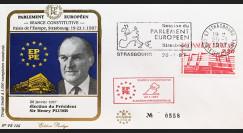 """PE126 : 1987 - FDC PE """"Election du Président du Parlement Européen"""