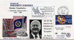 """PE74 : 1984 - FDC PE """"Election du Président du Parlement Européen"""