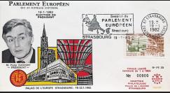 """PE30 : 1982 - FDC PE """"Election du Président du Parlement Européen"""