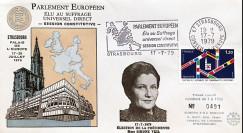 """SC2 : 1979 - FDC PE """"1ère élection au suffrage universel direct / Président Simone VEIL"""""""