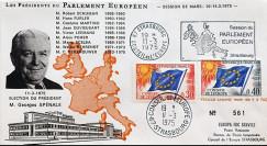 """AP123A : 1975 - FDC PE """"Election du Président du Parlement Européen"""