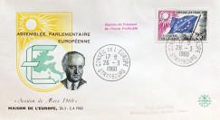 """AP12 : 1960 - FDC PE """"Election du Président du Parlement Européen"""