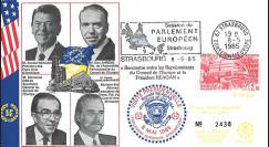 PE94b FDC PE 'Fin 2e Guerre Mondiale en Europe 1945' Reagan