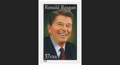 REAGAN-US05N : Timbre-poste USA 'Décès Ronald REAGAN