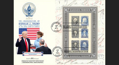 PRES17-USA1 MAXI FDC USA 'Investiture Donald TRUMP 45e Président des Etats-Unis' 2017