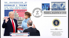 PRES17-USA3 FDC USA 'Investiture Donald TRUMP 45e Président des Etats-Unis' 2017