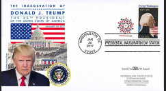 PRES17-USA4 FDC USA 'Investiture Donald TRUMP 45e Président des Etats-Unis' 2017