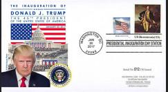 PRES17-USA5 FDC USA 'Investiture Donald TRUMP 45e Président des Etats-Unis' 2017